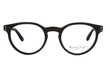 (Roaring Jungler)Roaring Jungler Glasses] - Small Round Frame - Book aura (ASPEN iron tree + African pear)