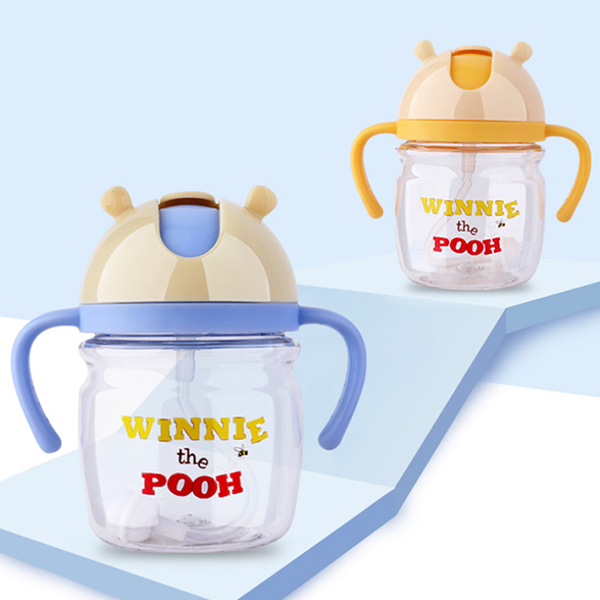 [Ubee selection] Disney Meng Bao Pooh bear children double handle learning cup learning kettle 310ML