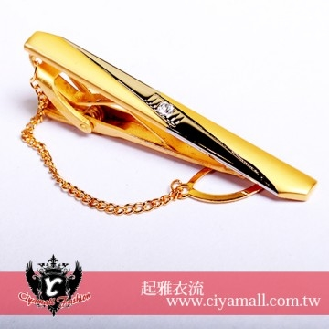 (Ciyamall)High quality tie clip (boxed) 5C012