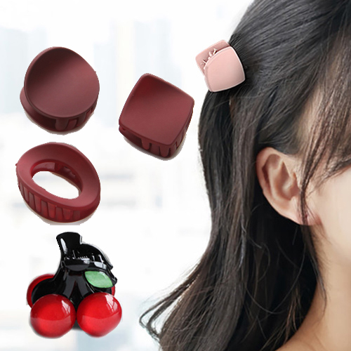 (charme)Charme Korea imported cute trumpet grab value group red