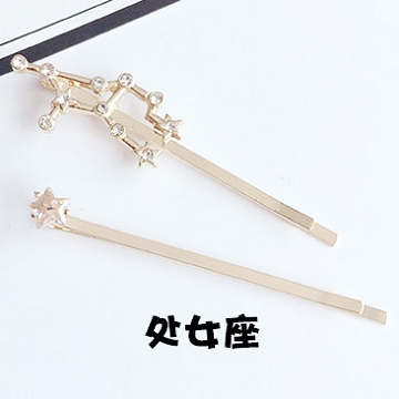 (charme)Charme South Korea imported star story 12 constellation hairpin (set of two) Virgo