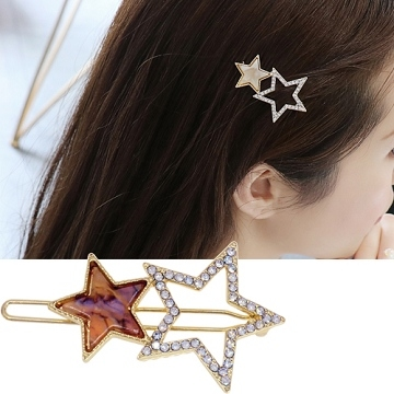 (charme)Charme Japanese and wind series stars acrylic mix wind frog clip interstellar powder
