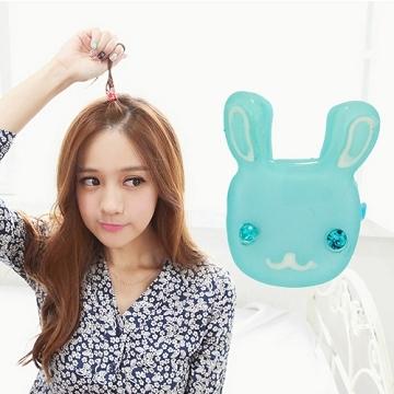 (charme)Charme Korean pop cute bunny shape childlike style buttoned folder R05
