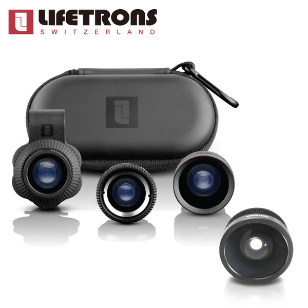 (Lifetrons)Lifetrons 3-in-1 lens group + ultra wide-angle lens
