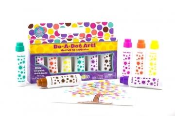(Do A Dot Art)Do A Dot Art dot markers: 6 pcs island color
