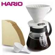 ถ้วยกรองกาแฟเซรามิค Star Wars เซ็ตสำหรับ 4 ที่ (กระดาษกรอง HARIO 100 แผ่น)