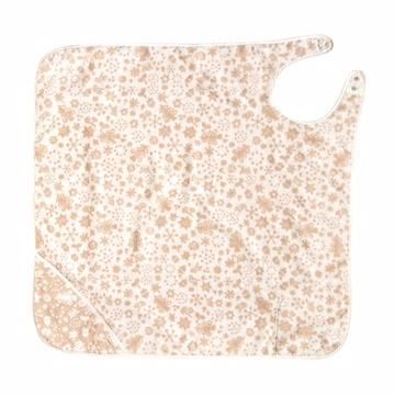(Hoppetta)Hoppetta snowflake soft organic cotton towels aprons