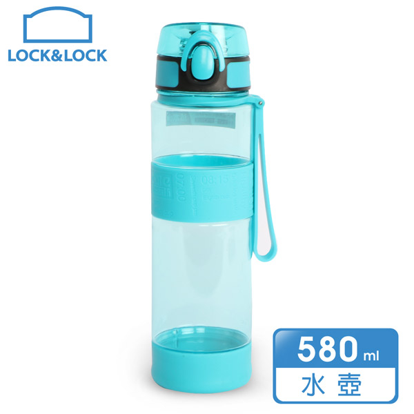 (lock&lock)LOCK & LOCK High Quality Silicone Carrying Bottle 580ml / Mint (ABF961MNT)