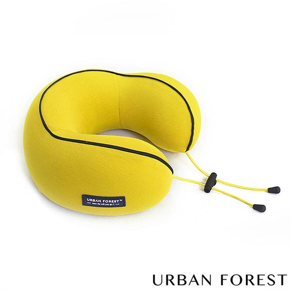 (URBAN FOREST)URBAN FOREST Urban Forest Flower Roll-Travel Neck Pillow / Siesta Pillow (Turmeric)