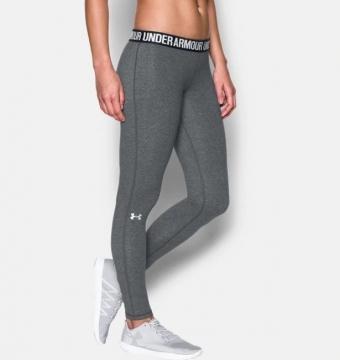 [UNDER ARMOR] HG หญิงที่ชื่นชอบกางเกงผอม FIT Twist Carbon สีเทา