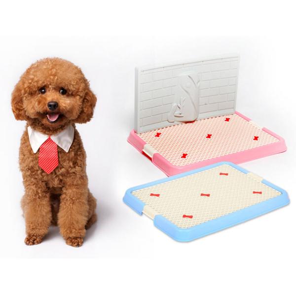 Ai Chongle ญี่ปุ่นและเกาหลีใต้ร้อนตาข่ายสาดหลักฐานปัสสาวะที่ถอดออกได้ปัสสาวะไม่เต็มเต็งสัตว์เลี้ยงปัสสาวะคงที่ - จุดการฝึกอบรมสุนัขโถปัสสาวะสุนัขห้องน้ำสุนัขนังแบน
