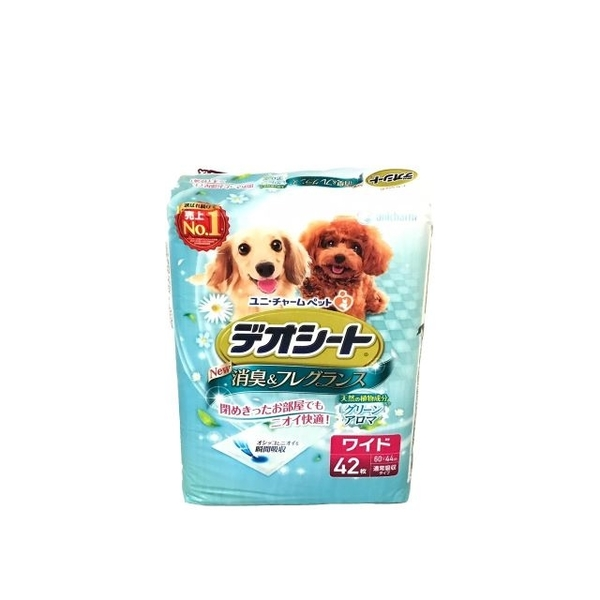 (unicharm)Japan Unicharm small dog and dog pads wide version of forest fragrance 42 tablets