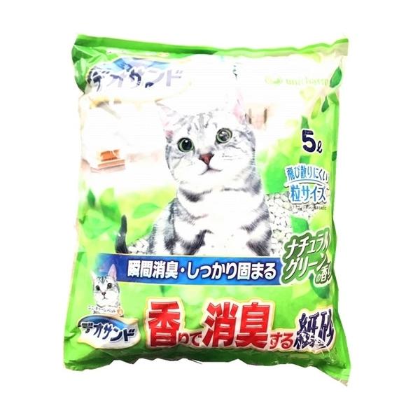 (unicharm)Japan Unicharm deodorant paper sand grass fragrance 5L x 6 pack (box)