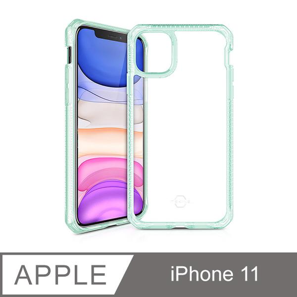 (ITSKINS)ITSKINS iPhone 11 HYBRID CLEAR-anti-fall protective shell (light green)