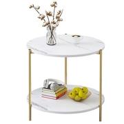 โต๊ะกาแฟคู่ที่เรียบง่ายโต๊ะกาแฟโต๊ะข้างเตียง