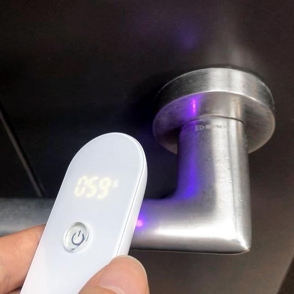 ZUIVER UVC LED โคมไฟฆ่าเชื้อด้วยแสงยูวี แบบพกพา - (พร้อมจอแสดงผล LCD) (พรีออร์เดอร์ 10-15วัน)