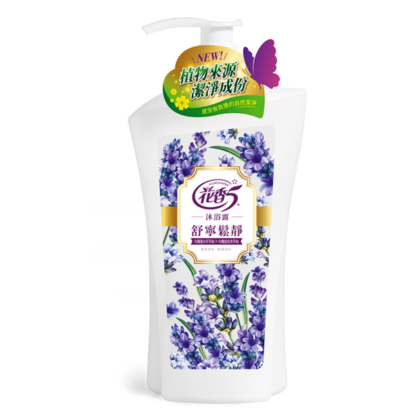 (花香5)Floral Scent 5 Shu Ning Song Jing Body Wash-1000ml