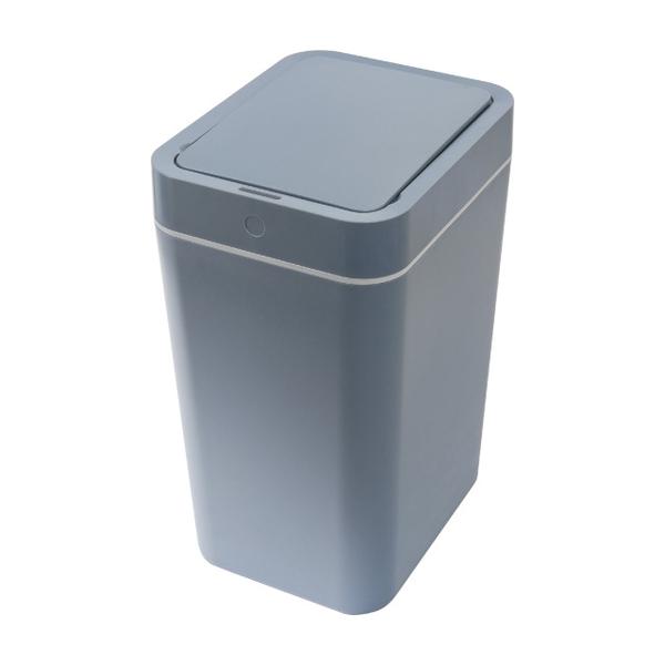 ถังขยะเหนี่ยวนำป้องกันการกระเซ็น can-8L-grey