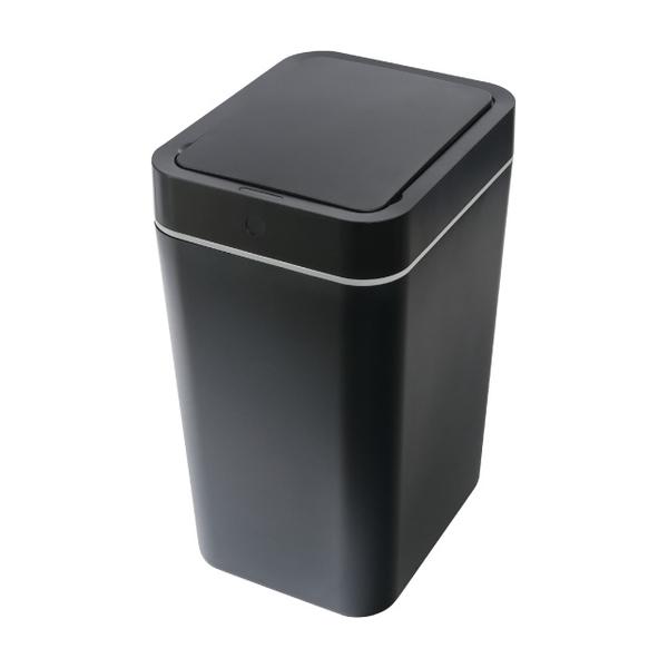 ถังขยะเหนี่ยวนำป้องกันการกระเซ็น can-8L-black