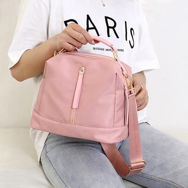 My Destiny Korean-Waterproof nylon cloth cross-body bag 65019 (pink)