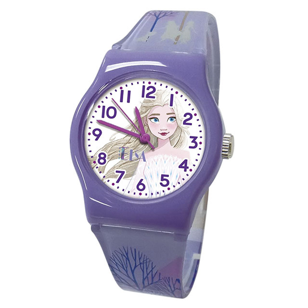 (disney)[Disney] Frozen 2 Elegant Elsa Children's Watch _ ? 紫