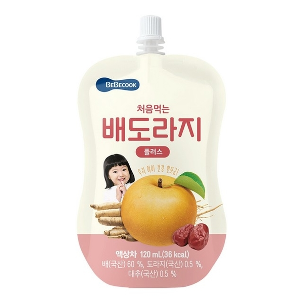 Bebecook Korean Baby พุทราน้ำผลไม้พุทราพุทรา (120ml)