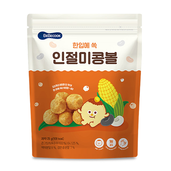 (Bebecook)Korea 【Bebecook】 Infant Corn Balls-Original Flavor (25g) (2 Entry)