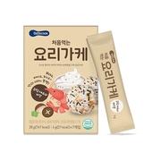 เกาหลี Bebecook Bibimbap Bibimbap หอมครีมสนเห็ดกุ้งสด (28g)