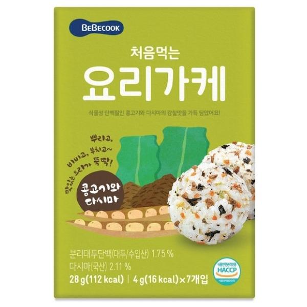 Korea Bebecook Bibimbap เนื้อวัวและผัก Bibimbap (28g)