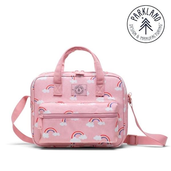 (Parkland)(Parkland) Tag Lunch Bag-Pink Rainbow