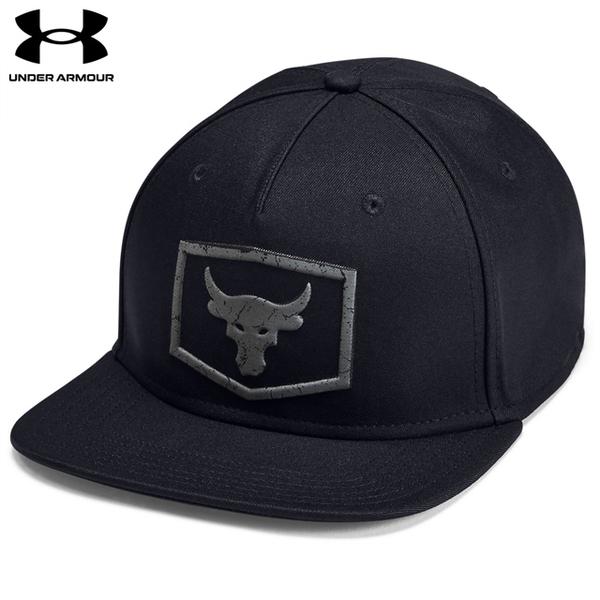 (UNDER ARMOUR)[UNDER ARMOUR] UA male Project Rock baseball cap black
