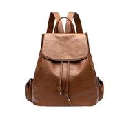 [Lapagayo] กระเป๋าเป้สะพายหลังหนังเชือกฟรีแบบสบาย ๆ