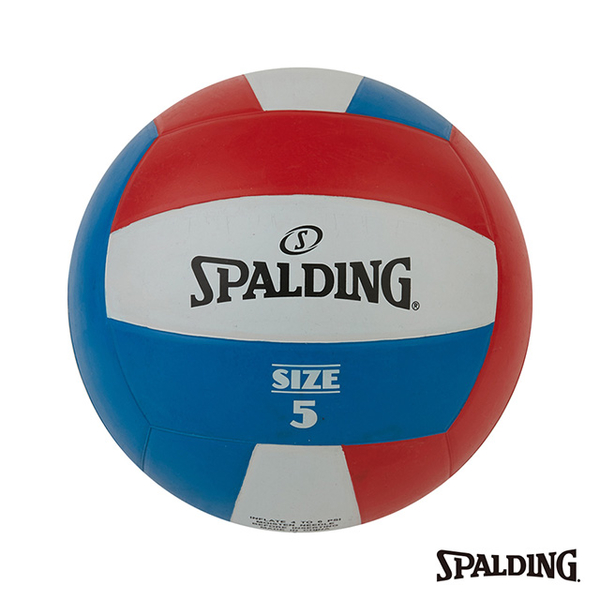 (spalding)SPALDING Spalding Team Volleyball Red/White/Blue #5