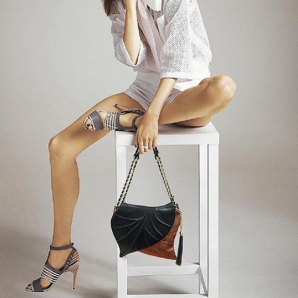 กระเป๋าที่ใช้คู่ / การออกแบบที่ทำด้วยมือ / กระเป๋าข้ามร่างกาย / กระเป๋าคลัทช์ / กระเป๋าสะพายไหล่