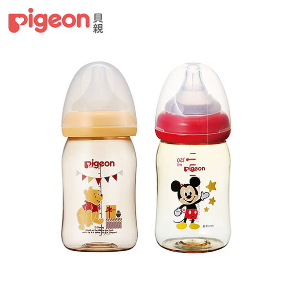 [Pigeon] ขวดนม PPSU 160 มล. / ลายดิสนีย์คลาสสิก