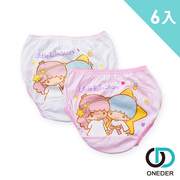 [ONEDER แวนด้า] ราศีเมถุนดาราชายกางเกงในสองชิ้น x3 group-6 ในกลุ่มคุณค่า (Sanrio ที่ได้รับอนุญาตการประกันคุณภาพที่ดีที่สุดสำหรับทารก)
