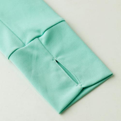 [E‧Heart] แจ็คเก็ตกันแดดที่ทนต่อรังสี UV ได้สูง (ความรู้สึกเย็น ๆ บาง - สีเขียว)