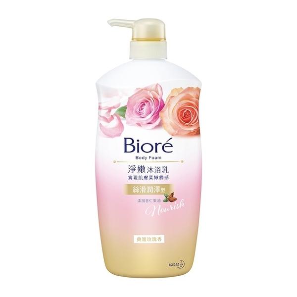Biore Honey Cleansing Body Wash, Elegant Rose Fragrance 1000g
