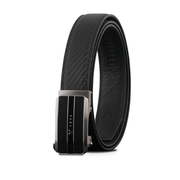 (braun buffel)[VOVA] Pan Taiwan Distributor Fashion Gentleman Extreme Style Automatic Buckle Belt-Gun Color/VA008-004-GU