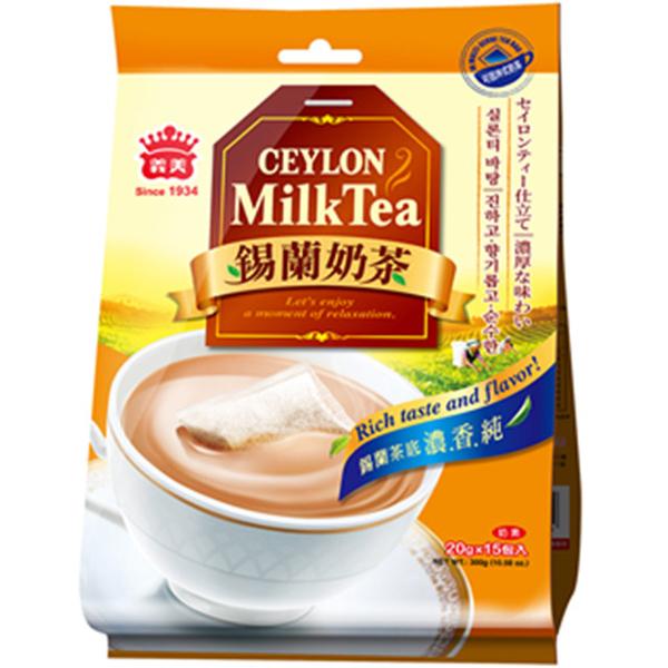 【Yimei】ชานมซีลอน ( 20 กรัม x 15 ซอง / ถุง )