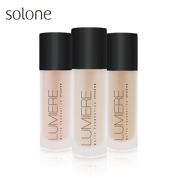 (solone)Solone Mercerized Custom Light Foundation SPF50 35ml