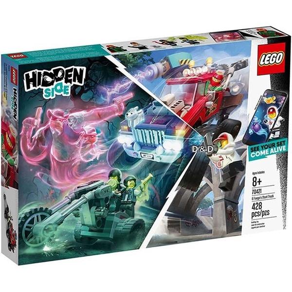 "(lego)LEGO ""LT70421"" 2019 Hidden Side Series-Avege's Stunt Truck"