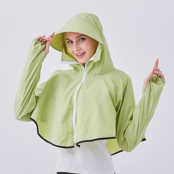 [GQ SHOP] เสื้อคลุมอออินวัน กันแดด กันลม กันฝน มีหมวก สำหรับผู้หญิง น้ำหนักเบาและระบายอากาศได้ดี (มีให้เลือก 5 สี)