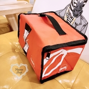 Huahua Club-Outflow. Coca-Cola Party time bottle open vitality orange insulated handbag 【 H6745 】