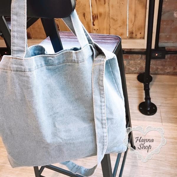 Huahua Club-Outflow. Retro denim casual big cross-back dual-use bag simple casual style [H6756]