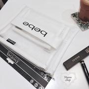 Huahua Club-Meidan. กระเป๋าเดินทางสามใบหนังสีขาวตาข่ายสีขาวกระเป๋าเก็บเอกสารกระเป๋าเครื่องสำอาง [H6800]
