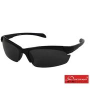 [แว่นกันแดดกีฬากลางแจ้งสำหรับเด็ก Docomo] PC เลนส์กีฬาป้องกันการระเบิดการออกแบบที่ยืดหยุ่นผลการสวมใส่ที่ยอดเยี่ยมกรอบสีดำทน UV400
