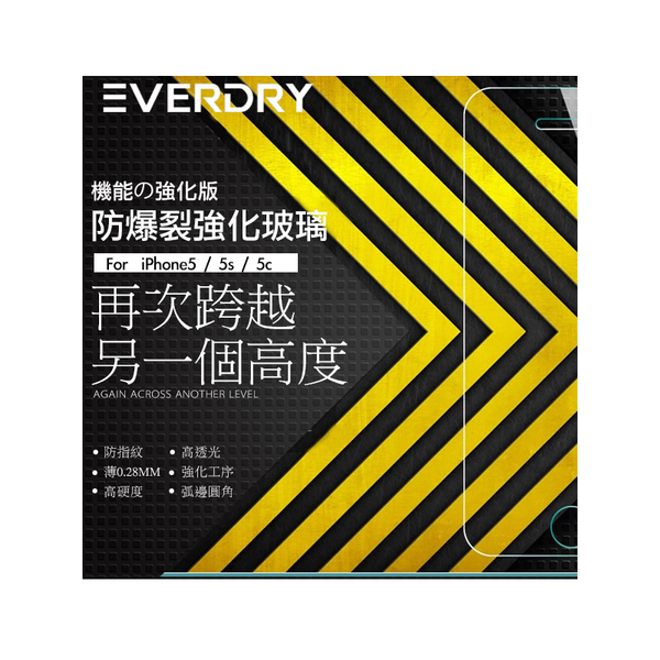 Eyescreen   EverDry 9H กระจกกันรอยสำหรับ iPhone X / Xs / XsMax / XR / 11 / 11Pro / ProMax กระจกนิรภัยบางส่วน