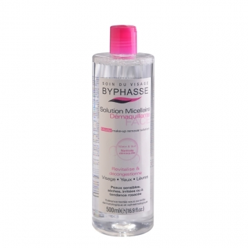 [BYPHASSE] Four-in-one moisturizing makeup remover 500ml