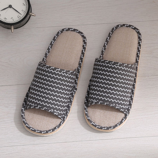 (Charliesfamily)Summer style indoor slippers-coffee color